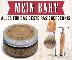 Werbeanzeige von MeinBart.de